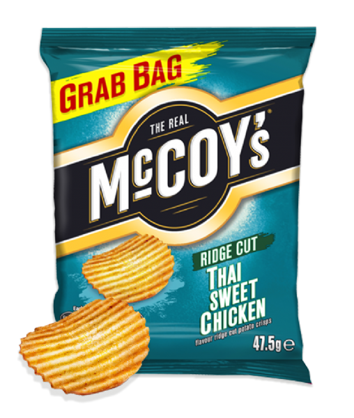 McCoys Crisps Thai Sweet Chicken 36x47.5g